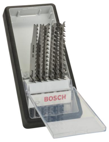 Bosch Jigsaw blade set 6PC Wood Expert