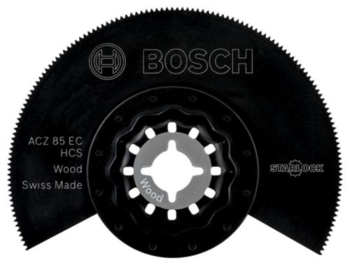 Bosch Segmentsägeblatt HCS SEGMENT W 85MM