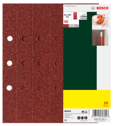 Bosch Abrasive disc 2607017105