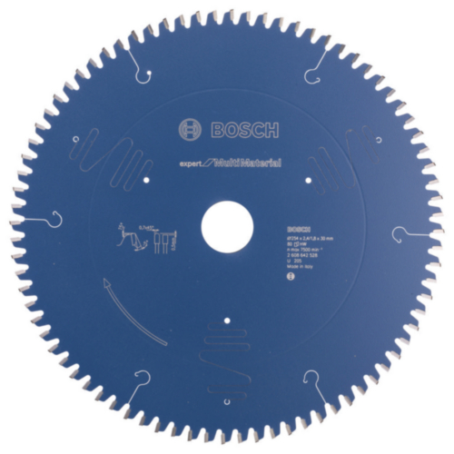 Bosch Circular saw blade 254X30X2,4MM 80