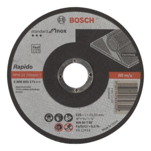 Bosch Disco de corte WA 60 T BF 125MM