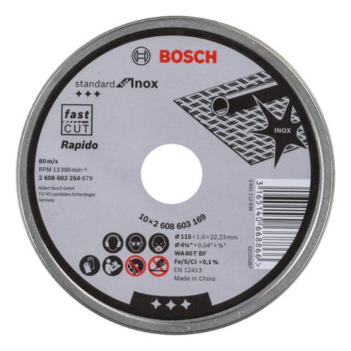 Bosch Disco diamante 115X22,23X1MM