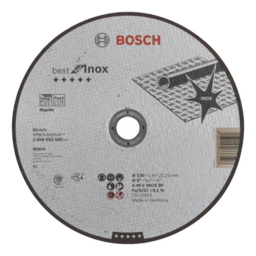 Bosch Disco de corte A 46 V BF 230MM