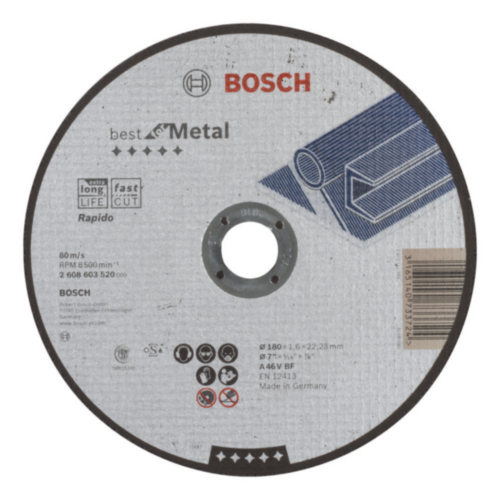 Bosch Disco de corte A 46 V BF 180MM
