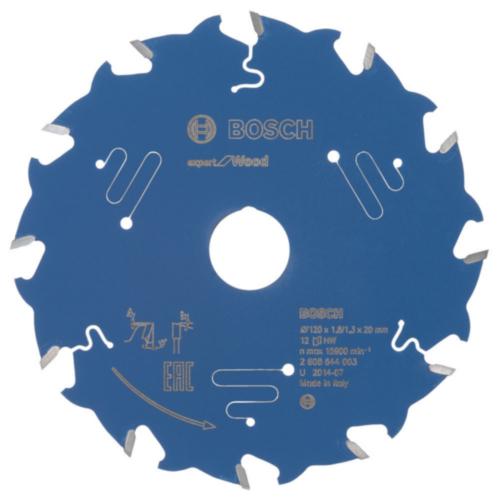 Bosch Hoja de sierra circular 120X20X1.8/1.3X12 T