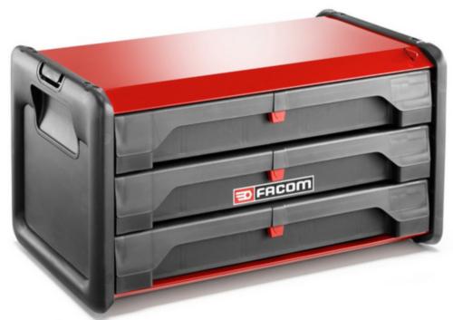 Facom Boxy na náradie, plastové 3 DRAWERS