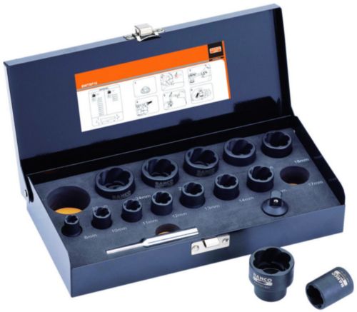 Bahco Socket sets 16PCS