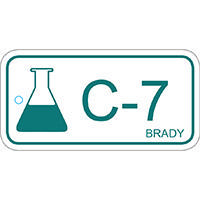 Brady Energy source tag chemical 7 25PC