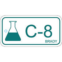 Brady Energy source tag chemical 8 25PC