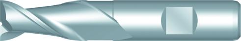 Dormer Langlochfräser, kurz C159 DIN 844-K HSSE Blanc 2.00mm