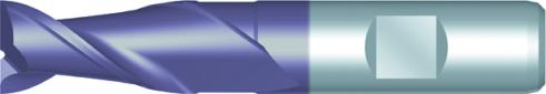 Dormer Fraise weldon courte C169 DIN 844 K HSSE TiCN 5.00mm