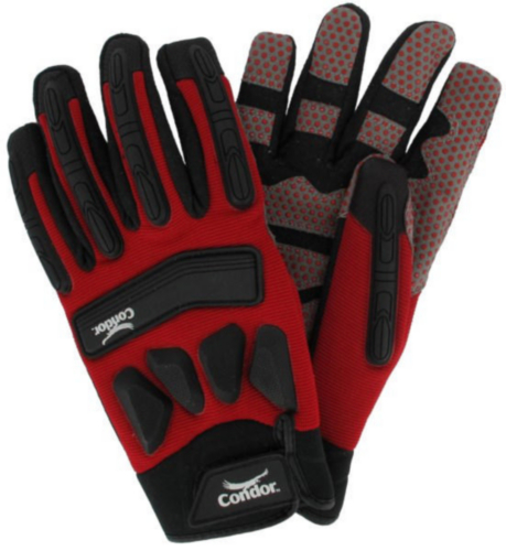 Condor Gloves Spandex Acryl SL77-XL-RED
