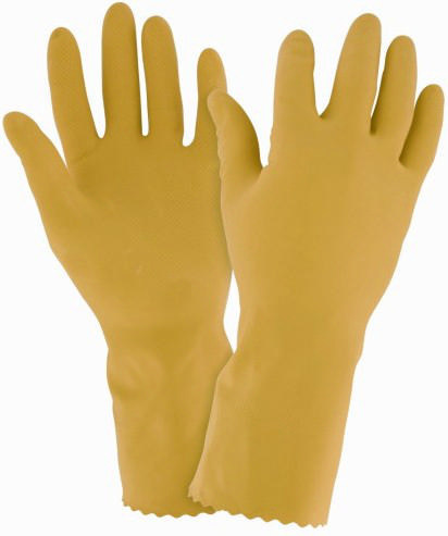 Condor Chemical resistant gloves RF110-XL YELLOW