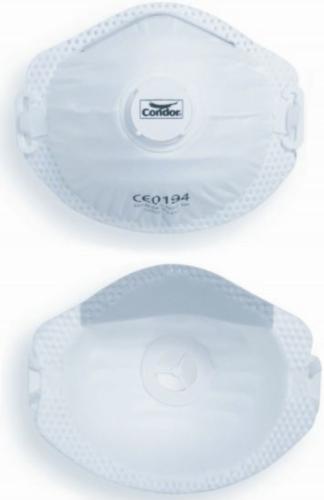 Condor Disposable respirators with valve nose seal MASK FFP2 NR VLV