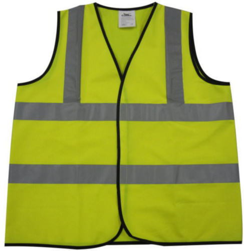 Condor High visibility traffic vest Yellow HI-VIZ 001Y - XL