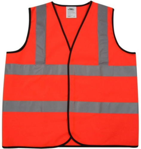 Condor High visibility traffic vest Orange HI-VIZ 001OR - XL