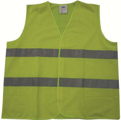 Condor High visibility traffic vest Yellow HI-VIZ 004Y - 2XL