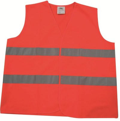 Condor High visibility traffic vest Orange HI-VIZ 004OR - L