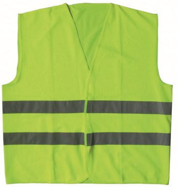 Condor High visibility traffic vest Yellow HI-VIZ 714Y - L