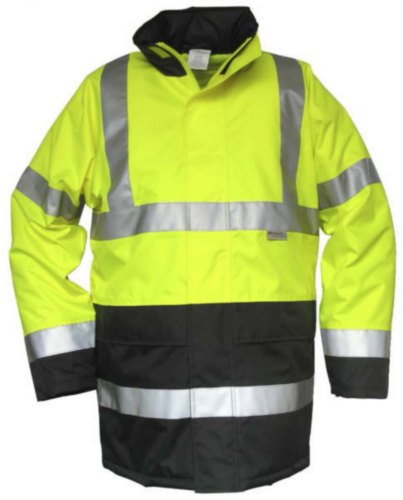 Condor High visibility rain coat Blue/Yellow HI-VIZ 741 - 2XL