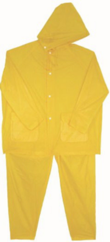 Condor Disposable rain suit Yellow RSD - XL