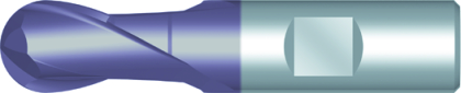 Dormer Technická fréza C503 DIN 327 D HSSE TiCN 3.00mm