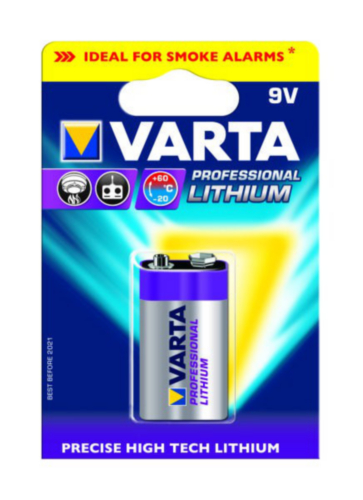 Varta Battery 6122301401 1543YLW-100 1PC