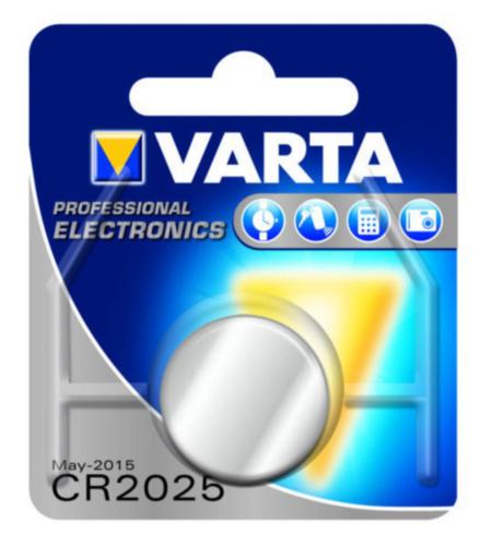VART BATTERY ELECTRONIC        CR2025 3V