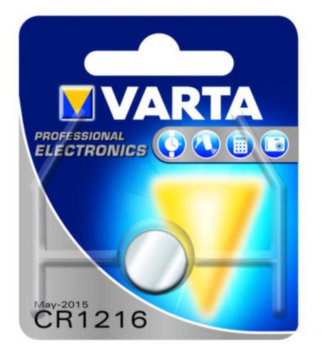 VART BATTERY ELECTRONIC        CR1216 3V