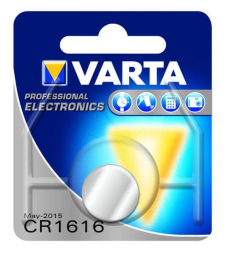 VART BATTERY ELECTRONIC        CR1616 3V