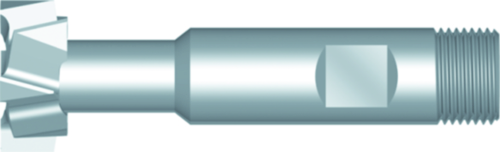 Dormer T-gleuffrees C800 DIN 851 HSSE Blanc 40.0x18.0mm