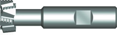 Dormer T-slot cutter C801 DIN 851 HSSE Blanc 18.0x8.0mm
