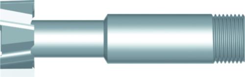 Dormer Frezy do rowków teowych C810 HSS Blanc 53/64x23/64In