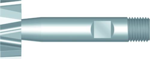Dormer Frézy pre drážky woodruff C822 DIN 850 HSSE Blanc 45.5x10.0mm