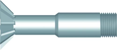 Dormer Rezačka v tvare holubičieho chvosta  C837 HSS Blanc 5/8Inx4.0mm