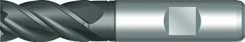Dormer End mill C907 DIN 844-K HSSE PM SUPER-G 25.00mm