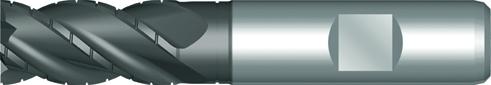 Dormer Roughing end mill C921 DIN 844 K HSSE PM SUPER-G 22.00mm
