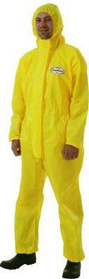 Kleenguard Disposable coverall A71 Hooded coverall 96760 Yellow M