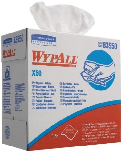 WP CLOTH X50             POP-UP BX/WHITE