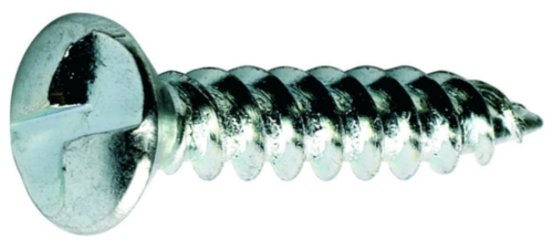 One way clutch head countersunk wood screw