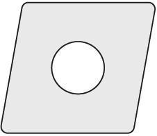 Pramet Váltólapka CNGN CER 120708T01020:TC100