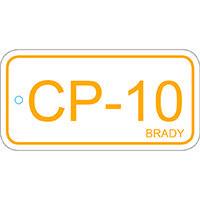 Brady Etiquette source d'energie panneau de controle 10 25PC