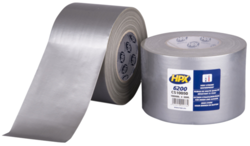 HPX 6200 Duct tape 100MMX50M CS10050
