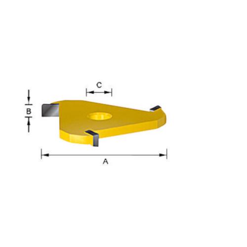 Makita Couteau à rainurer HM 6,0MM