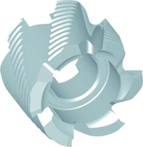 Dormer Nástrčné frézy D402 DIN 1880 HSSE Blanc 40.0x32.0