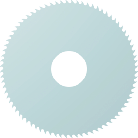 Dormer Circular saw blade D747 DIN 1837 HSS Blanc 80.0mmx1.5mm