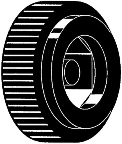 Mânere rotunde randalinate pentru locaș hexagonal