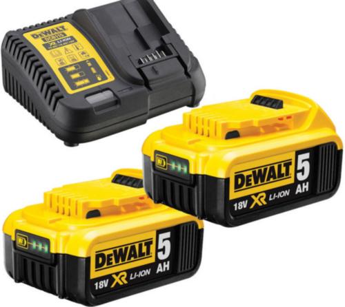 DeWalt Accu pack 18V 2x5,0Ah XR