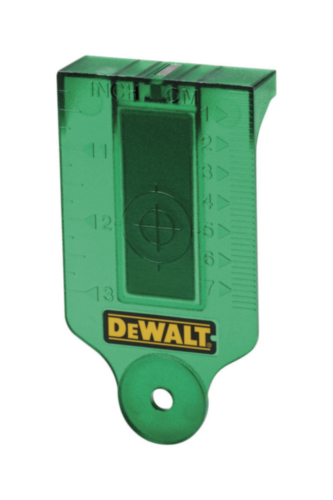 DeWalt Aiming card Zubehör für Laser Green
