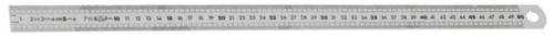 FAC METRIC ST STEEL RULE 2SIDE 500MM